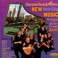 Harpsichord Alive: New York City Music